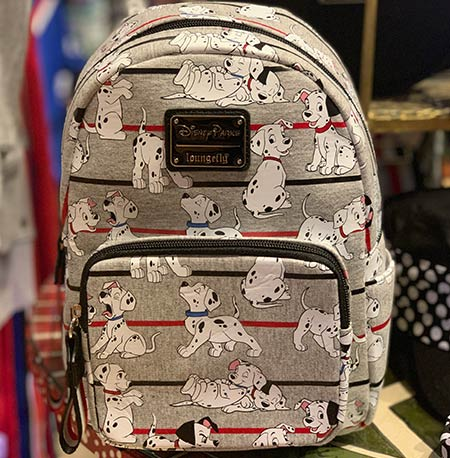 Chic Out the Parks Disney Characters Collection: 101 Dalmatians LoungeFly Mini Backpack | Mouse Memos Disney Blog