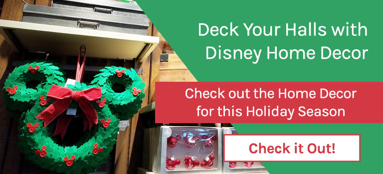 Click to see the new Disney Parks Home Decor for Christmas 2018 | Mouse Memos Disney Blog