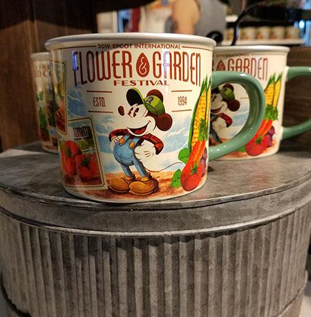Flower & Garden Festival Mickey's Garden Shed Flower Festival Mug | Mouse Memos Disney Blog