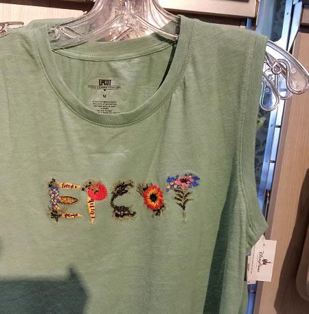 Flower & Garden Festival Mickey's Garden Shed Green Epcot Tank Top | Mouse Memos Disney Blog