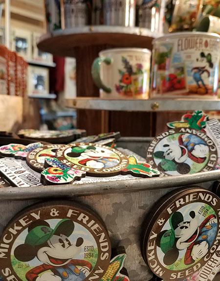 Flower & Garden Festival Mickey's Garden Shed Magnet | Mouse Memos Disney Blog