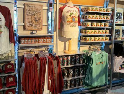 Epcot Flower & Garden Festival Mickey's Garden Shed Merchandise | Mouse Memos Disney Blog