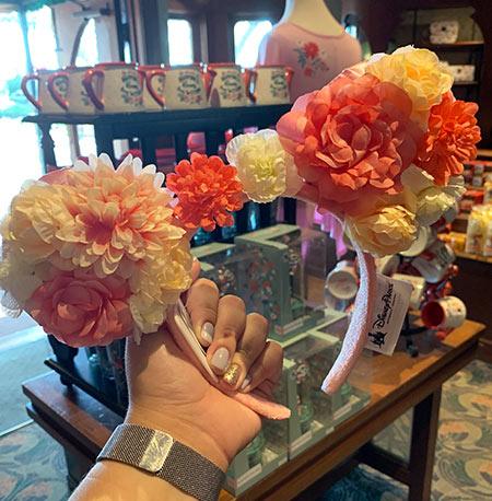 Flower & Garden Festival Minnie's Garden Party Floral Mouse Ears | Mouse Memos Disney Blog