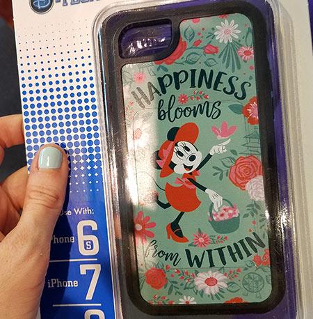 Flower & Garden Festival Minnie's Garden Party Minnie iPhone Case | Mouse Memos Disney Blog