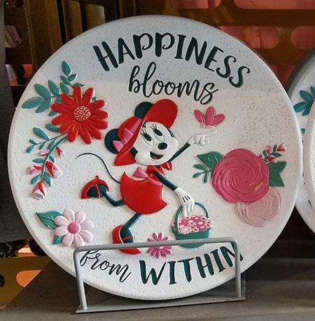 Flower & Garden Festival Minnie's Garden Party Garden Stepping Stone | Mouse Memos Disney Blog