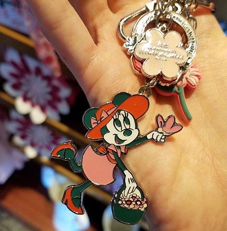 Flower & Garden Festival Minnie's Garden Party Minnie Keychain | Mouse Memos Disney Blog