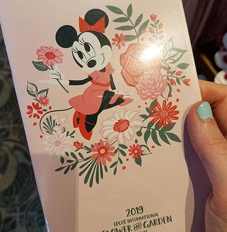 Flower & Garden Festival Minnie's Garden Party Minnie Notebook | Mouse Memos Disney Blog
