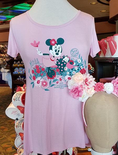 Flower & Garden Festival Minnie's Garden Party Minnie Pink T-shirt | Mouse Memos Disney Blog