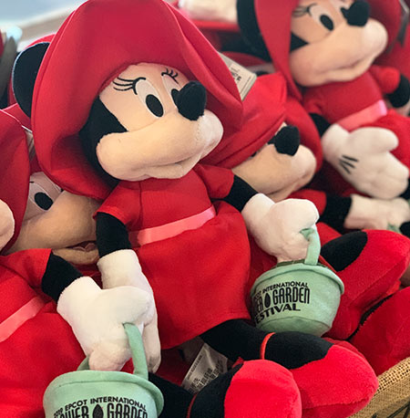 Flower & Garden Festival Minnie's Garden Party Minnie Stuffed Character | Mouse Memos Disney Blog