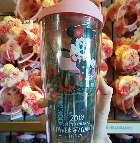 Flower & Garden Festival Minnie's Garden Party Minnie Tervis Tumbler | Mouse Memos Disney Blog