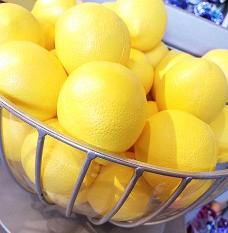 Epcot Flower & Garden Festival Put a Little Zest in Your Fest Lemon Stress Ball | Mouse Memos Disney Blog