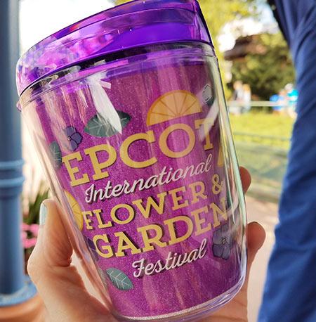 Epcot Flower & Garden Festival Put a Little Zest in Your Fest Travel Tumbler | Mouse Memos Disney Blog
