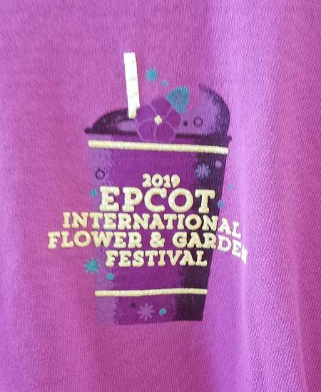 Epcot Flower & Garden Festival Put a Little Zest in Your Fest Spirit Jersey | Mouse Memos Disney Blog