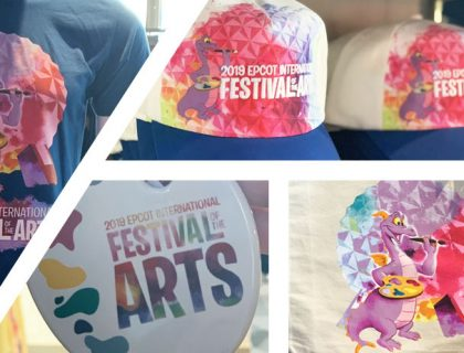 Merch Alert: 2019 Festival of the Arts Merchandise | Mouse Memos Disney Blog