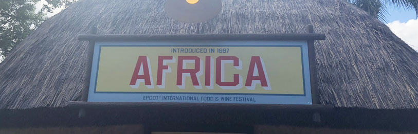 Africa 2019 Menu Epcot International Food & Wine Festival | Mouse Memos Disney Blog