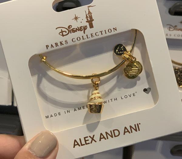 Merch Alert: New Alex and Ani D-Lish Disney Snack Dole Whip Charm Bracelets | Mouse Memos Disney Blog