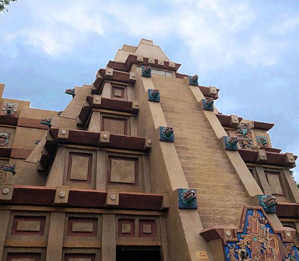 Epcot's Mexico Pavillion Mesoamerican Pyramid   Mouse Memos Disney Blog