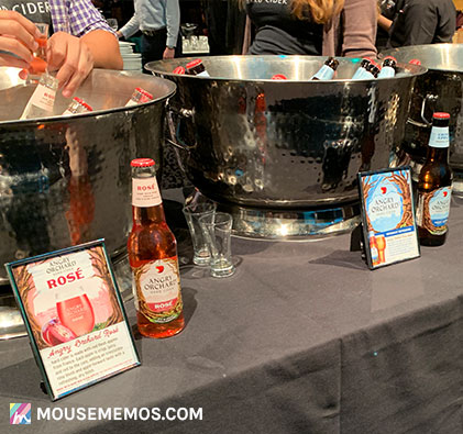 Angry Orchard Rose & Angry Orchard Crisp Apple at Party for the Senses 2018 Epcot International Food and Wine Festival | Mouse Memos Disney Blog