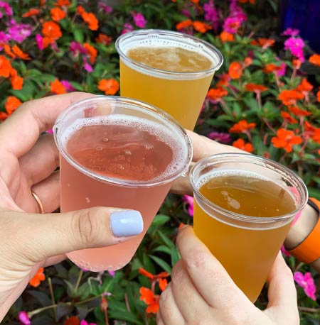 Beers at Arbor at the Gardeners Terrace: Drinking Around the World Flower & Garden Festival Edition | Mouse Memos Disney Blog