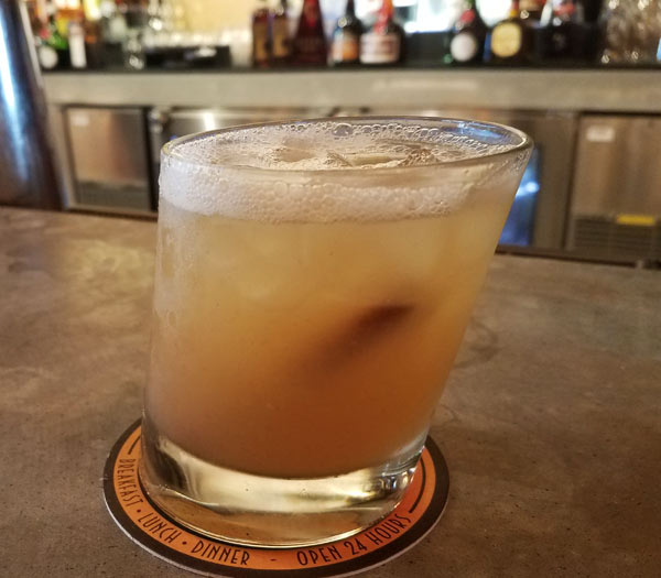 Autumn Smash at Jock Lindsey's Hangar Bar for WonderFall Flavors Disney Springs | Mouse Memos Disney Blog