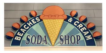 Beaches & Cream Soda Shop Sign | Mouse Memos Disney Blog