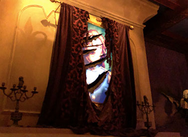 Beast's Painting West Wing Be Our Guest Restaurant   Mouse Memos Disney Blog
