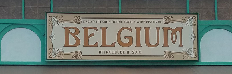 Belgium 2019 Menu Epcot International Food & Wine Festival | Mouse Memos Disney Blog