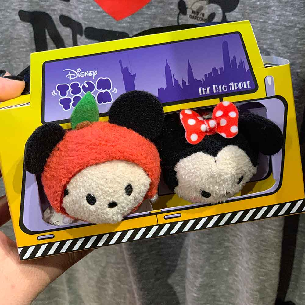 Big Apple Tsum Tsums Minnie and Mickey Mouse | Mouse Memos Disney Blog