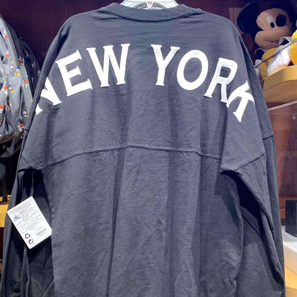New York City Disney Spirit Jersey — Back | Mouse Memos Disney Blog
