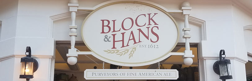 Block & Hans 2019 Menu Epcot International Food & Wine Festival | Mouse Memos Disney Blog