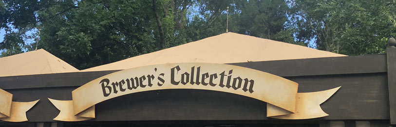 Brewer's Collection 2019 Menu Epcot International Food & Wine Festival | Mouse Memos Disney Blog