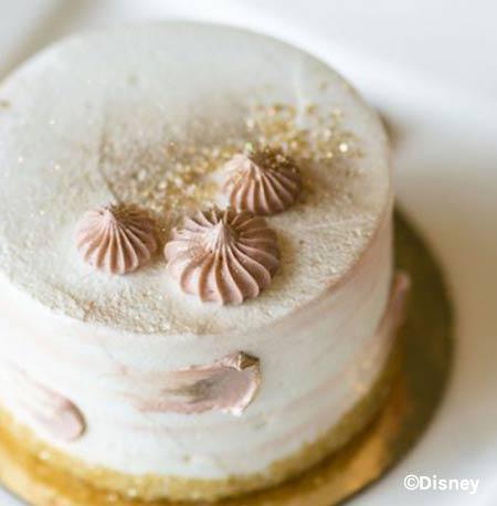 Briar Rose Gold Raspberry Cake at Walt Disney World Resort | Mouse Memos Disney Blog