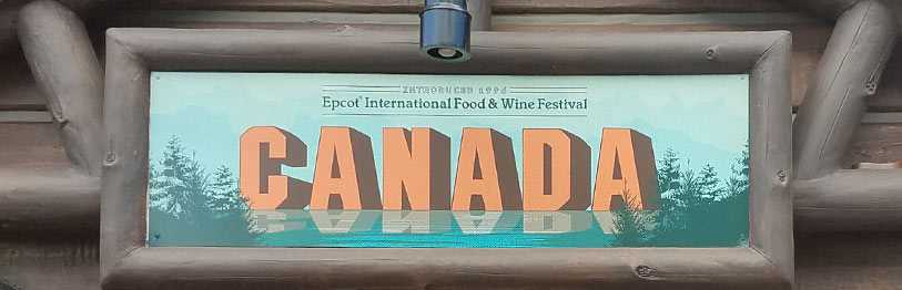 Canada 2019 Menu Epcot International Food & Wine Festival | Mouse Memos Disney Blog