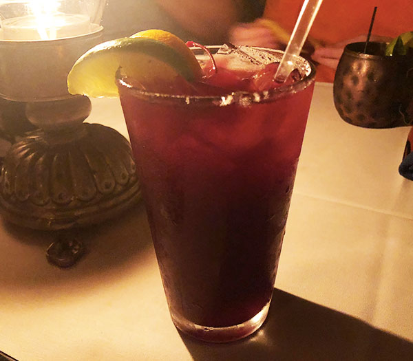 Sangria from the San Angel Inn Restaurante in Epcot's Mexico Pavillion in Walt Disney World