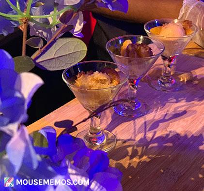 Chef Dana Herbert's Peach Cobbler at Party for the Senses 2018 Epcot International Food and Wine Festival | Mouse Memos Disney Blog