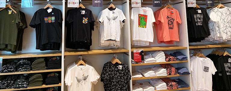 T-Shirts from UNIQLO at Disney Springs | Mouse Memos Disney Blog