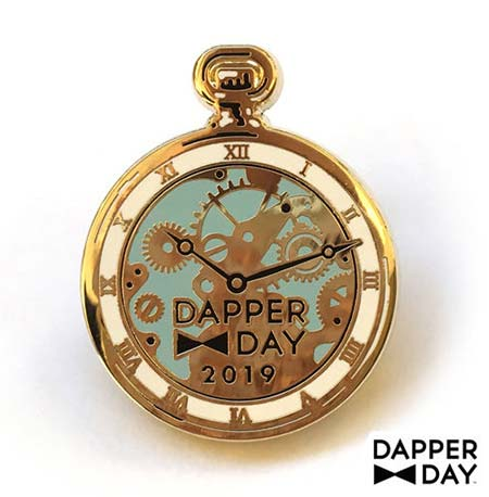 Dapper Day Alice in Wonderland Pocket Watch Pin | Mouse Memos Disney Blog