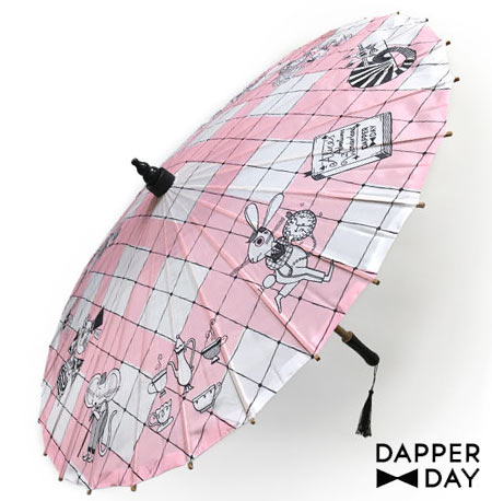 Dapper Day Alice in Wonderland Parasol | Mouse Memos Disney Blog