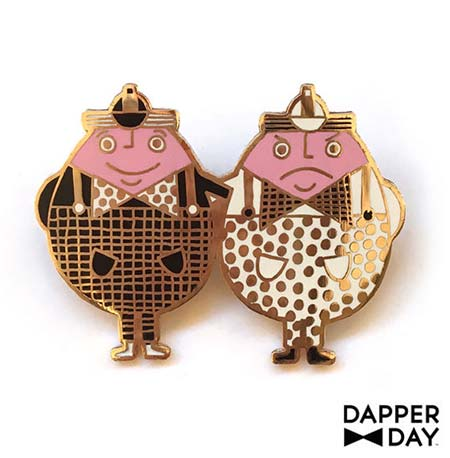 Dapper Day Alice in Wonderland Tweedledee & Tweedledum Pin | Mouse Memos Disney Blog