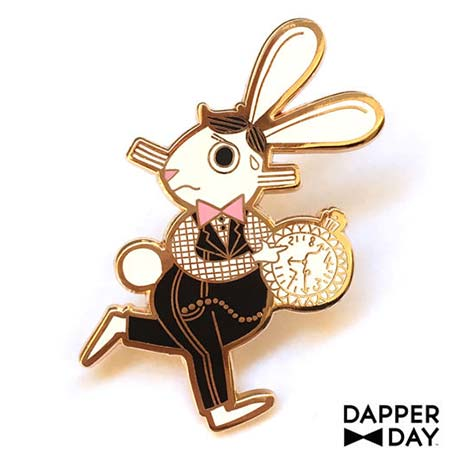 Dapper Day Alice in Wonderland White Rabbit Pin | Mouse Memos Disney Blog