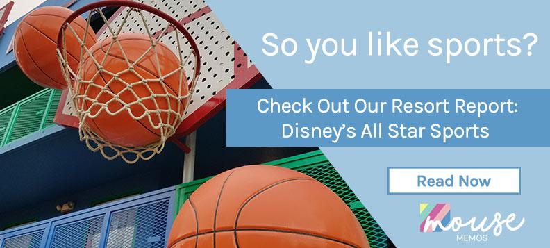 Disney All Star Sports Resort Report   Mouse Memos Disney Blog