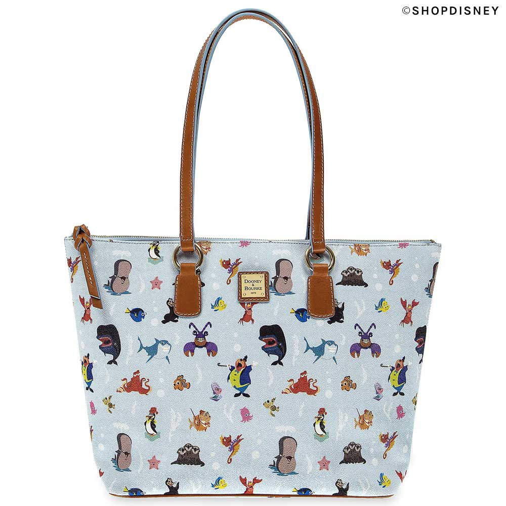 Out to Sea Dooney & Bourke and Disney Large Shopper Tote from ShopDisney.com | Mouse Memos Disney Blog