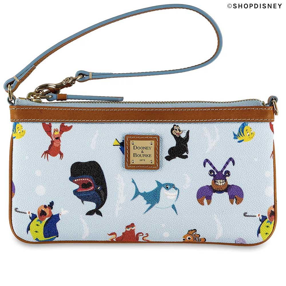 Out to Sea Dooney & Bourke and Disney Wristlet from ShopDisney.com | Mouse Memos Disney Blog