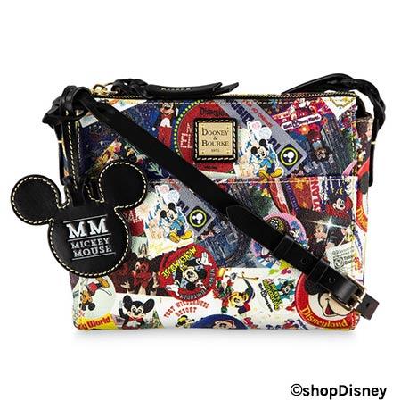 Disney Parks Mickey's Celebration Collection Dooney & Bourke Crossbody Bag | Mouse Memos Disney Blog