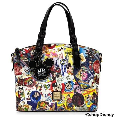 Disney Parks Mickey's Celebration Collection Dooney & Bourke Satchel | Mouse Memos Disney Blog