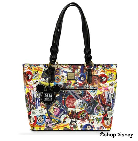 Disney Parks Mickey's Celebration Collection Dooney & Bourke Tote | Mouse Memos Disney Blog