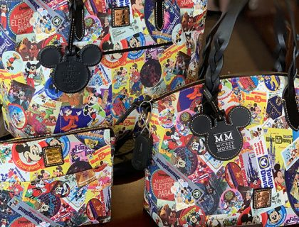 Disney Parks Mickey's Celebration Collection Dooney & Bourke | Mouse Memos Disney Blog