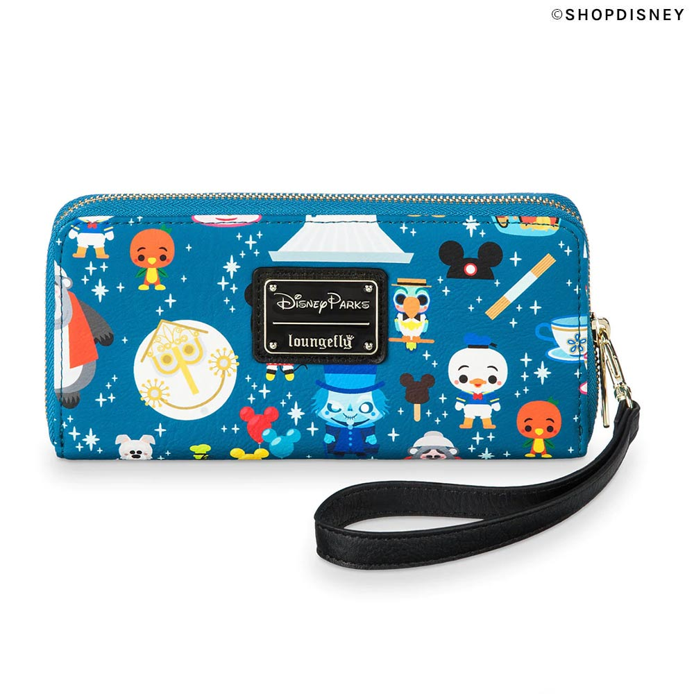 Disney Parks Minis Loungefly Collection: Wristlet Wallet Front | Mouse Memos Disney Blog