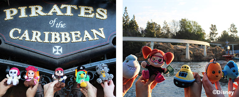 Disney Parks Wishables Finding Nemo Submarine Voyage and Pirates of the Caribbean | Mouse Memos Disney Blog