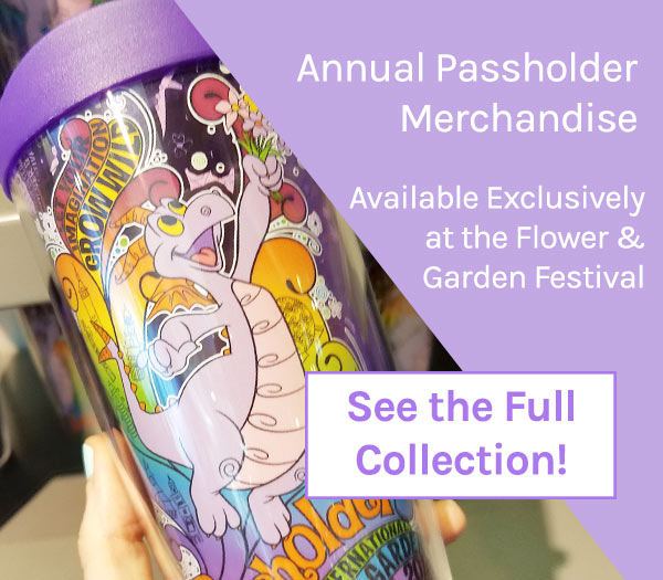Annual Passholder Merchandise 2019 Epcot Flower and Garden Festival | Mouse Memos Disney Blog
